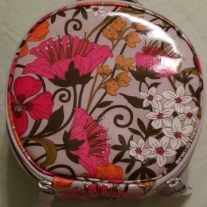 Vera Bradley cosmetics and jewelry case